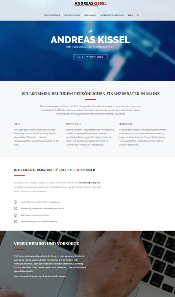 Finanzmakler Andreas Kissel